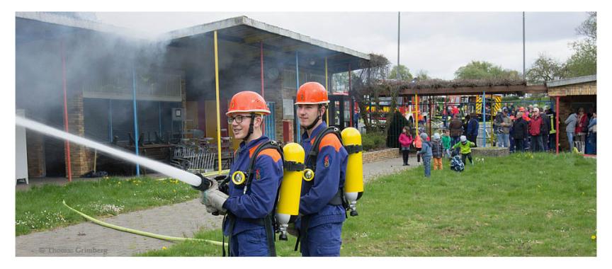 Jugendfeuerwehr in Wolfenhausen