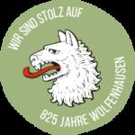 Logo 825 Jahre Wolfenhausen