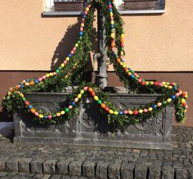 Brunnen Ostern Wolfenhausen
