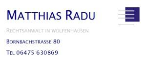 Kanzlei Matthias Radu