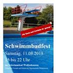 Schwimmbadfest am 11. August 2018 im Wolfenhäuser Freibad