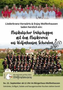 Frühschoppen Liederkranz-Vorwärts & Enjoy Wolfenhausen 2019