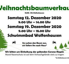Weihnachtsbaumverkauf am 12. und 19. Dezember